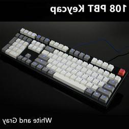 108 key PBT Backlit Keycaps For ANSI and Corsair STRAFE K65