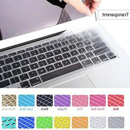 Laptop Silicone Keyboard Protector Skin Cover For Apple Macb
