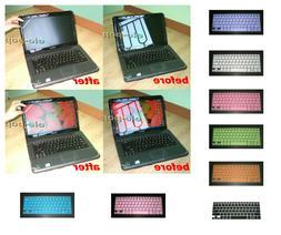 15.6'' Anti Glare Screen Cover + Keyboard Skin Protector for