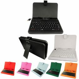 """1pcs 7"""" Inch PU Case Keyboard case Random Color for 7"""" Table"""