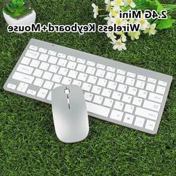 2.4G Mini Wireless Keyboard + Mouse Set Waterproof for Mac A