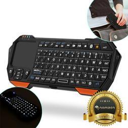 30ft mini wireless bluetooth keyboard touchpad