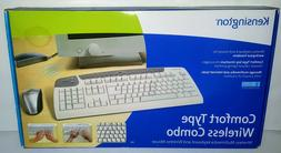 Kensington 64353 Comfort Type Wireless Keyboard and Mouse Co