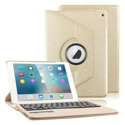 7 Colors Backlit Bluetooth Keyboard Case For iPad Air 2 Smar