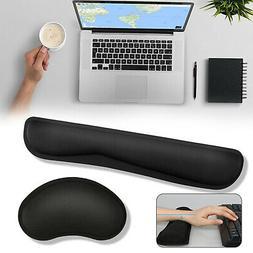 Memory Foam Keyboard Wrist Rest Pad Mouse Pad Wrist Support