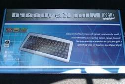 ADESSO AKB-901 mini usb keyboard w/ ps/2 adapter