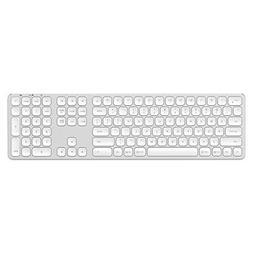 Satechi Aluminum Bluetooth Keyboard with Numeric Keypad & 3-