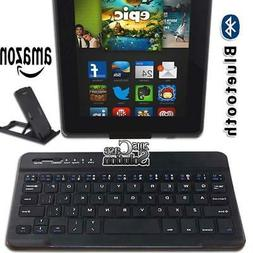 """For Amazon Fire 7"""" 8"""" Tablet Slim Wireless Bluetooth Keyboar"""