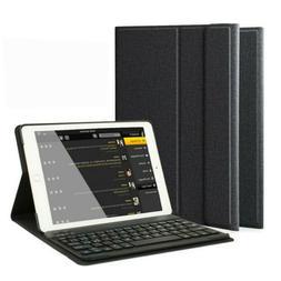 iPad 6th Gen 2018 9.7 inch Wireless Bluetooth Keyboard Leath