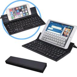 Bluetooth Folding Keyboard for Tablets, Smartphones, iPhones