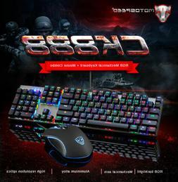 ck888 mechanical gaming keyboard and usb optical