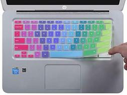 """Colorful Ultra Thin Keyboard Cover for HP 14"""" Chromebook/HP"""