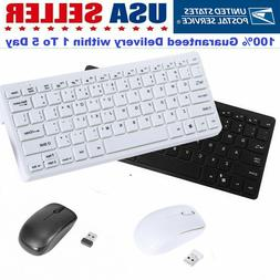 Computer PC gaming keyboard and mouse combo set Compact Wire