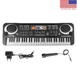 Digital 61 Keys Music Electronic Keyboard Key Board Electric