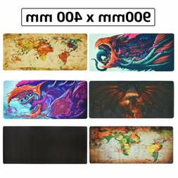 Extended Gaming Mouse Pad Extra Large Size Office Desk Keybo