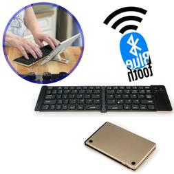 Foldable Bluetooth Keyboard for Tablets Smartphones iPhones
