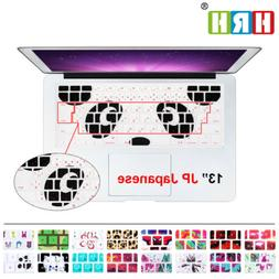 Japanese Keyboard Cover protector skin for MacBook Pro13 15