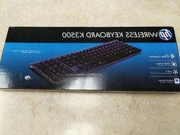 HP K3500 Wireless Keyboard  Brand New Sealed Box
