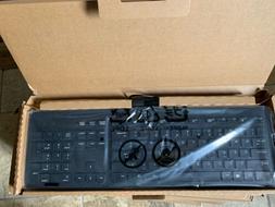 HP Keyboard 803181-001 USB Slim KB Win 8 US Black