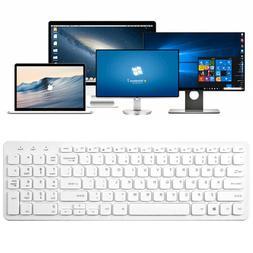 Keyboard Mini USB Wired 108 Keys Apple PC Laptop Ultra Thin