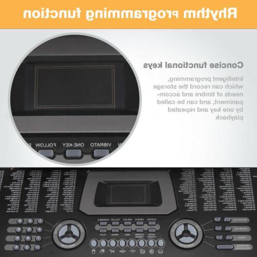 61 Music Keyboard Electric Digital Organ Microphone