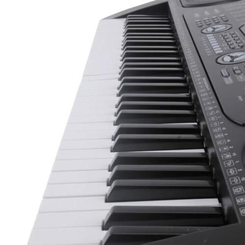 61 Key Keyboard Electric Digital Organ with Microphone