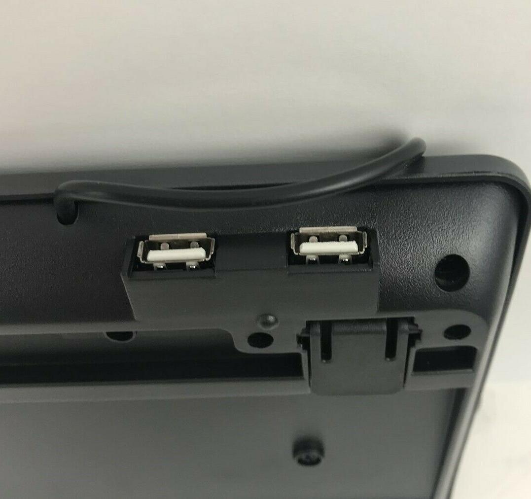 with 2-Port USB AKB-131HB Keyboard