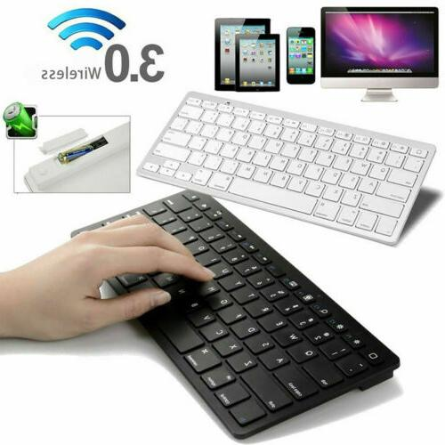 X6 Slim Luxury Bluetooth Keyboard For Apple iMac iPad Androi