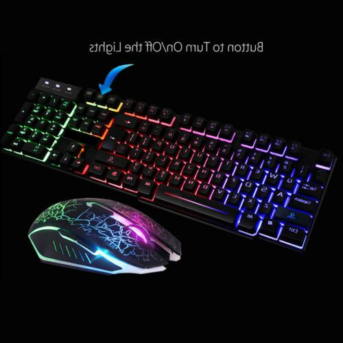 Gaming Rainbow Backlight For Computer PC