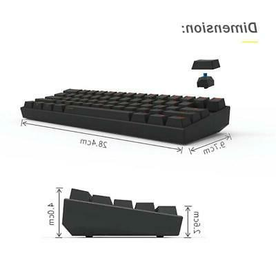 Gateron Switch Bluetooth Gaming Keyboard