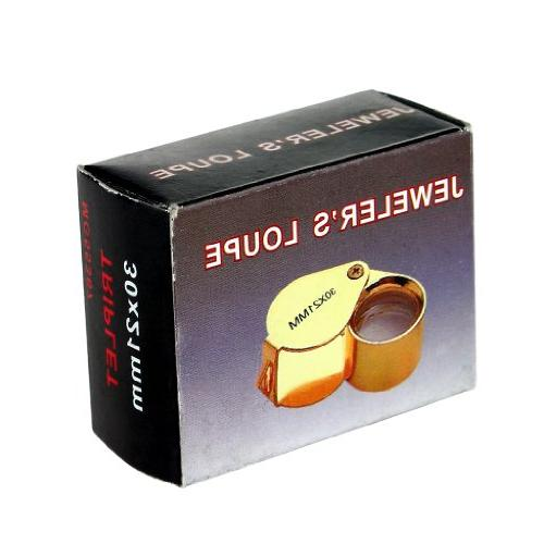 iKKEGOL 30 21mm Glass Eye Magnifier Magnifying