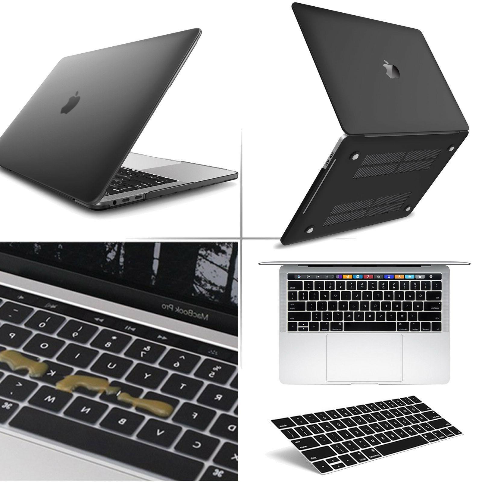 Apple Macbook Pro 13 Retina  : Black Matte Case,Keyboard Cov