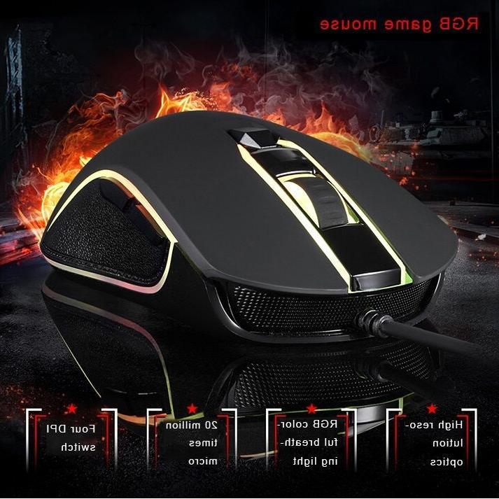 Motospeed CK888 Gaming Keyboard Mouse Bundle