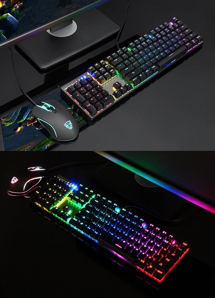 Motospeed CK888 Keyboard Mouse Bundle