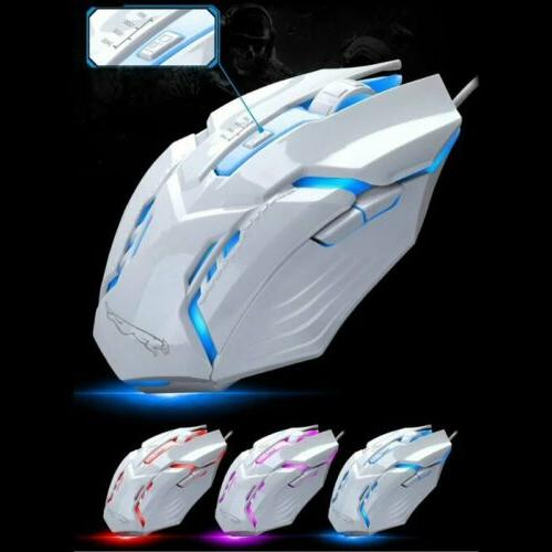 Pro RGB Colorful & Mouse Light Up