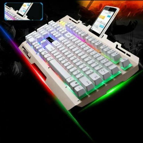 Pro Colorful Backlit & Mouse Computer Light