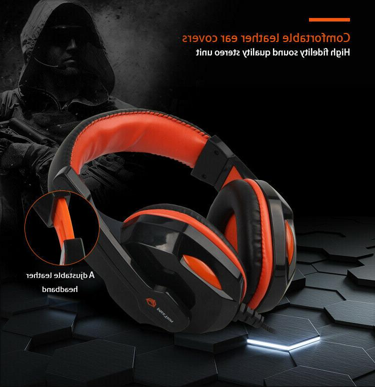 MeeTion Rainbow Gaming Mouse, Headset 1
