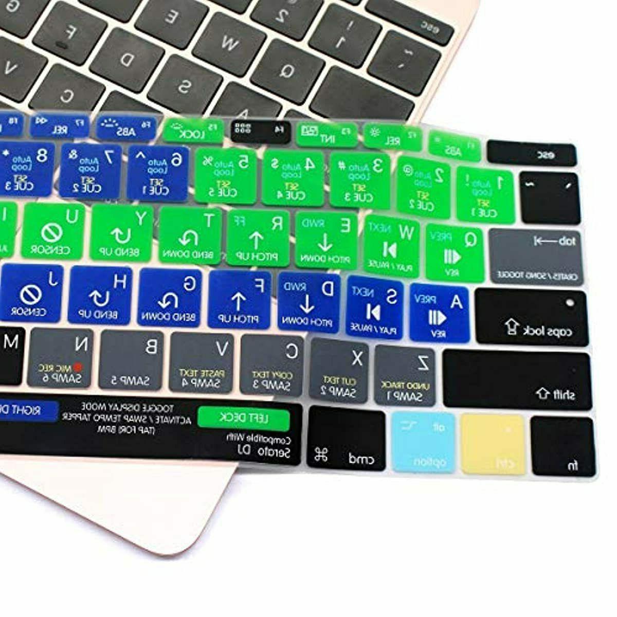 """Silicone Serato MacBook 12"""""""