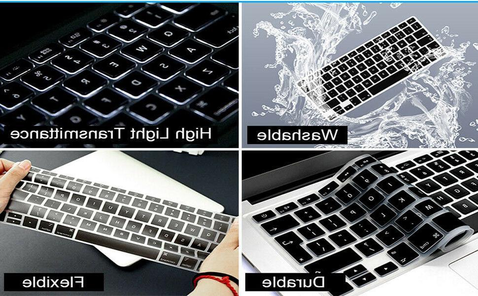 Silicone Keyboard Serato Hotkey MacBook New Pro