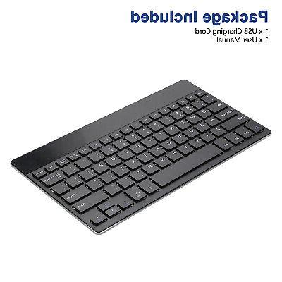 Ultra-thin Wireless Bluetooth for iPad Windows Notebook