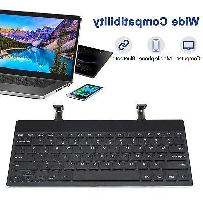 Ultra-thin Wireless Bluetooth Keyboard for APPLE iPad Android Windows