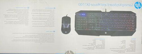 HP Wired And Mouse set English/Spanish backlight