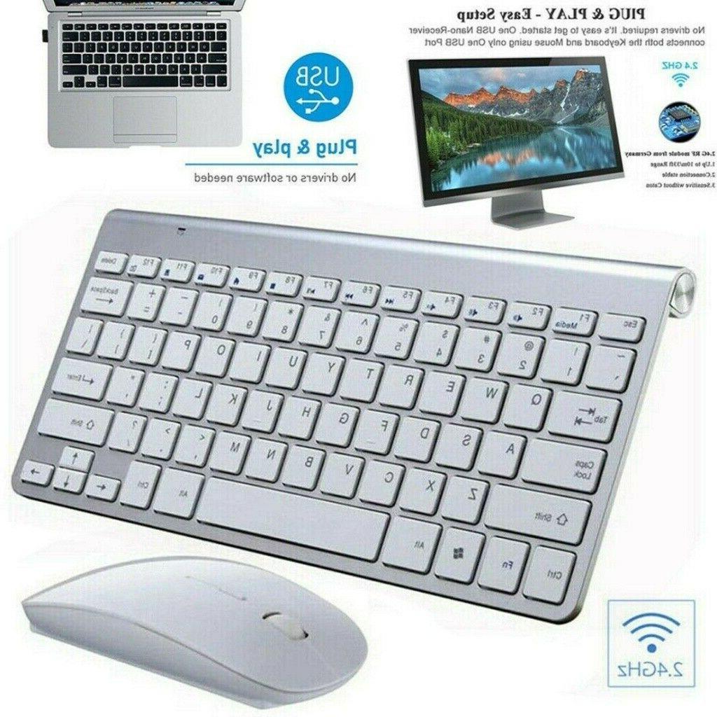 Wireless Keyboard Comb USB 2.4Ghz PC Desktop