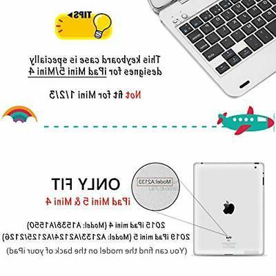 ONHI Wireless for iPad Mini / Mini 4 Case Plastic
