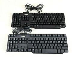 Dell Genuine Wired Keyboard USB RT7D50 L100 SK-8115 104-Key