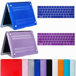 """For Macbook Air 11"""" Air 13 inch Rubberized Hard Case Clear L"""