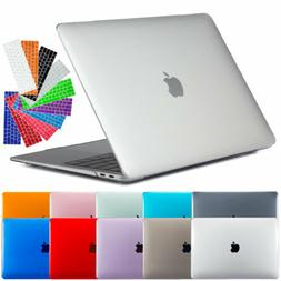 Clear Rubberized Case + Silicone Keyboard Cover For Macbook