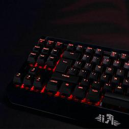 Rii Mechanical Gaming Backlit Keyboard K63C USB Wired 87 Key
