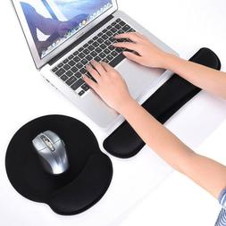 Memory Keyboard Silica Gel Foam Mouse Pad and Wrist Rest Pad