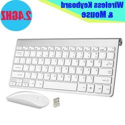 Mini Wireless Keyboard+Mouse Combo Set Waterproof 2.4G For M